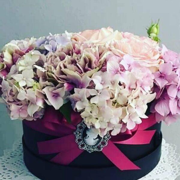 Crni flower box