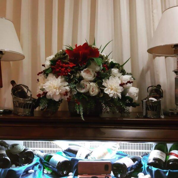 Umjetne dekoracije od amarilisa